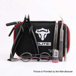 Authentic ThunderHead Creations THC Tauren Tool Kit Elite V2 - Pliers + Scissors + Tweezers + Coiling Jig