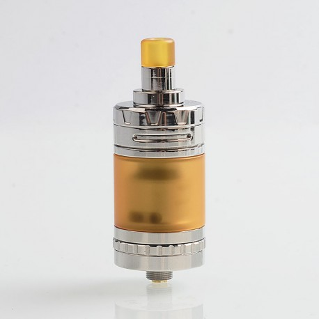 Authentic eXvape eXpromizer V4 MTL RTA Rebuildable Tank Atomizer - Polished, Stainless Steel, 2ml, 23mm Diameter