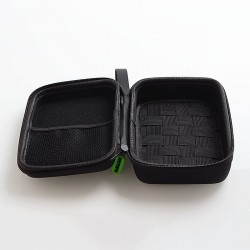 Authentic Wotofo Vape Carry Case Storage Bag for E-Cigarette - Black, 165mm x 114mm x 68mm