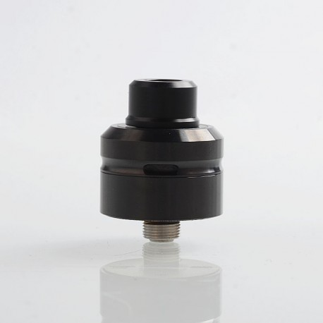 Vapeasy Daywon Style RDA Rebuildable Dripping Atomizer w/ BF Pin - Black, 316 Stainless Steel, 22mm Diameter