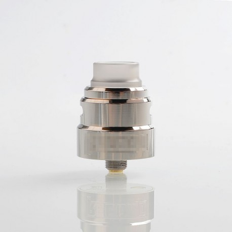 SXK Reload S Style RDA Rebuildable Dripping Atomizer w/ BF Pin - Silver, 316 Stainless Steel, 24mm Diameter
