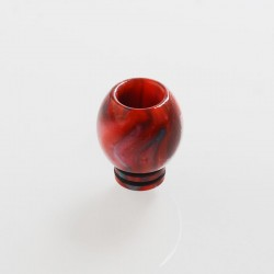 510 Replacement Drip Tip for RDA / RTA / Sub Ohm Tank Atomizer - Red, Resin, 17mm