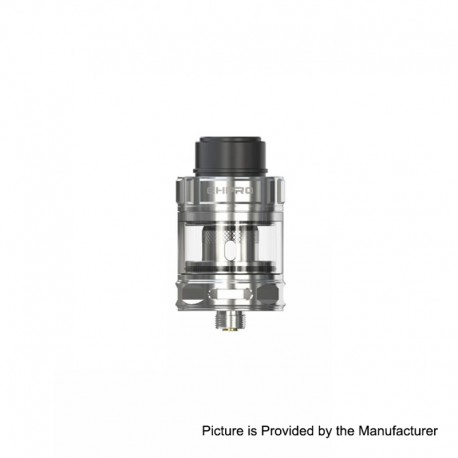 Authentic Ehpro M101 Sub Ohm Tank Clearomizer - Silver, Stainless Steel, 3ml, 0.3 Ohm, 25mm Diameter