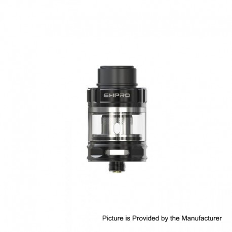 Authentic Ehpro M101 Sub Ohm Tank Clearomizer - Black, Stainless Steel, 3ml, 0.3 Ohm, 25mm Diameter