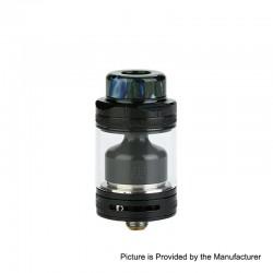 Authentic Footoon Aqua Master V2 RTA Rebuildable Tank Atomizer - Black, Stainless Steel, 4.5ml, 24mm Diameter