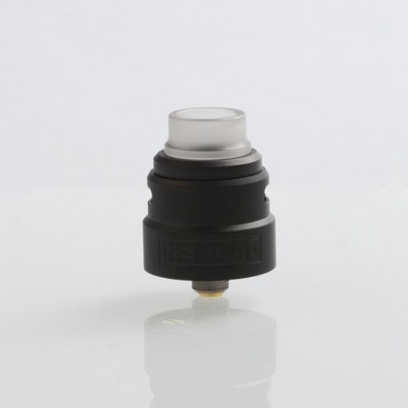 SXK Reload S Style RDA Rebuildable Dripping Atomizer w/ BF Pin - Black, 316 Stainless Steel, 24mm Diameter