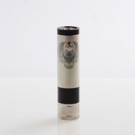 TF Scarab Pro 23mm Style Mechanical Mod - Black, Stainless Steel, 1 x 18350 / 18650