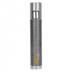 Authentic Aspire CF 510/eGo 18650 Mod - Grey, Stainless Steel + Carbon Fiber
