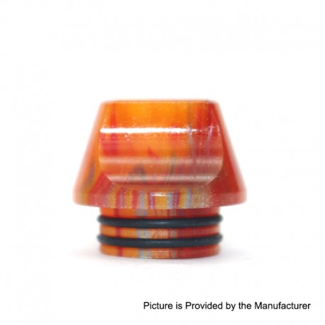 Authentic Vapesoon DT231-O 810 Replacement Drip Tip for TFV8 / TFV12 Tank / Goon / Kennedy / Reload RDA - Orange, Resin, 15.5mm