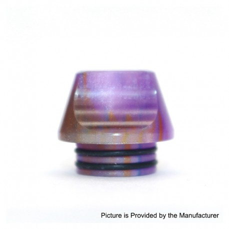 Authentic Vapesoon DT231-P 810 Replacement Drip Tip for TFV8 / TFV12 Tank / Goon / Kennedy / Reload RDA - Purple, Resin, 15.5mm