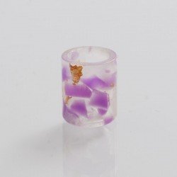 Replacement Drip Tip for Lost Vape Orion Pod - Purple, Resin, 13mm