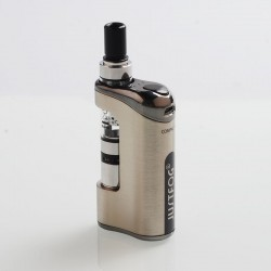 Authentic Justfog Compact 14 12W 1500mAh Starter Kit - Silver, 1.8ml, 1.6 Ohm / 1.2 Ohm