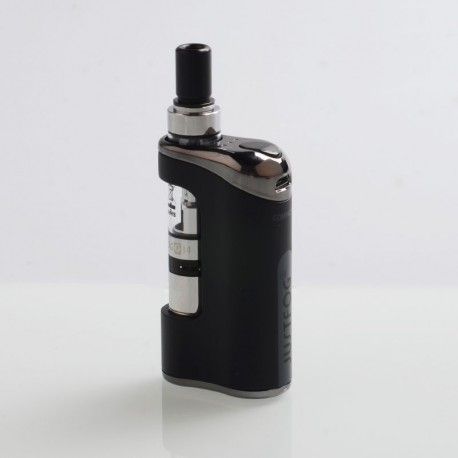 Authentic Justfog Compact 14 12W 1500mAh Starter Kit - Black, 1.8ml, 1.6 Ohm / 1.2 Ohm