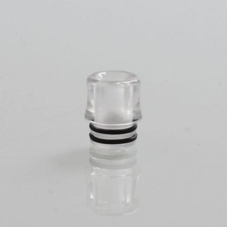 Coppervape 510 Replacement Drip Tip for VWM Integra Style RTA - Translucent, PC, 13mm