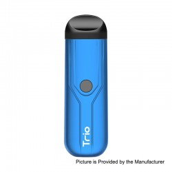 Authentic Yocan Trio 3-in-1 500mAh Pod System Starter Kit - Blue, 1.0ml