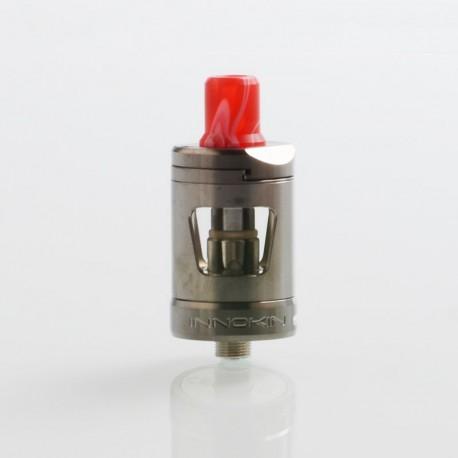 Authentic Innokin Platform Zlide Sub Ohm Tank Clearomizer - Gun Metal, 2ml, 0.48 Ohm / 1.6 Ohm, 22.7mm Diameter