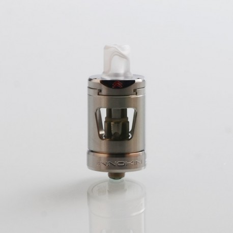 Authentic Innokin Platform Zlide Sub Ohm Tank Clearomizer - Silver, 2ml, 0.48 Ohm / 1.6 Ohm, 22.7mm Diameter