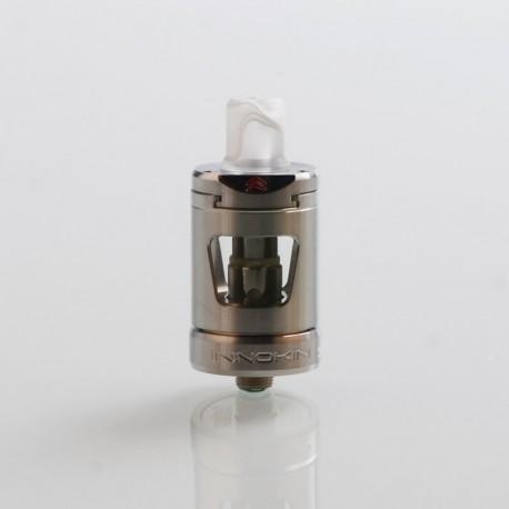 Authentic Innokin Zlide Sub Ohm Tank Clearomizer - Silver, 2ml, 0.48 Ohm / 1.6 Ohm, 22.7mm Diameter