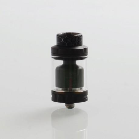 Authentic Hellvape Rebirth RTA Rebuildable Tank Atomizer - Full Black, 5ml, 25mm Diameter
