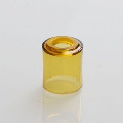 Replacement Tank Tube for 22mm Petri Style RTA - Brown, PEI, 2ml, 21mm Diameter