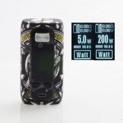 Authentic ThinkVape Thor 200W TC VW Variable Wattage Box Mod - League, ABS, 5~200W, 2 x 18650