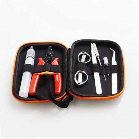 Authentic Vapor Storm V1 Tool Kit for E-Cigarettes DIY Coil Building - Pliers + Coil Jig + Screwdriver + Tweezers + Scissors