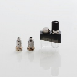 Authentic SMOKTech SMOK Trinity Alpha Kit Replacement Pod Cartridge + Nord MTL 0.8ohm Coil + Mesh 0.6 Coil Kit - Silver, 2.8ml