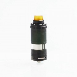 ShenRay VG V6 S V6S Style RTA Rebuildable Tank Atomizer - Black, 316 Stainless Steel, 5.5ml, 23mm Diameter