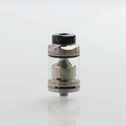 Authentic Footoon Aqua Master V2 RTA Rebuildable Tank Atomizer - SS, Stainless Steel, 4.5ml, 24mm Diameter