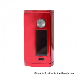 Authentic Asmodus Minikin 3 200W Touch Screen TC VW Variable Wattage Box Mod - Red, 5~200W, 2 x 18500