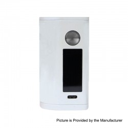 Authentic Asmodus Minikin 3 200W Touch Screen TC VW Variable Wattage Box Mod - White, 5~200W, 2 x 18500
