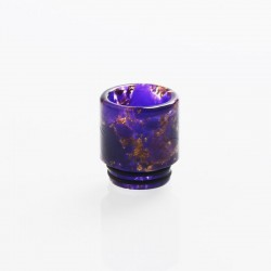 810 Drip Tip for TFV8 / TFV12 Tank / Goon / Kennedy / Reload RDA RTA / Sub Ohm Tank Vape Atmizer - Purple, Resin, 18mm