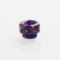 810 Drip Tip for TFV8 / TFV12 Tank / Goon / Kennedy / Reload RDA RTA / Sub Ohm Tank Vape Atmizer - Purple, Resin, 12.4mm