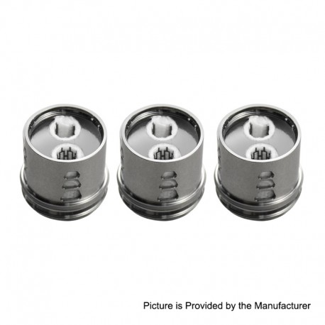Authentic Blitz Monstor Replacement Dual Mesh Coil Head - 0.2ohm (60~80W) (3-Pack)
