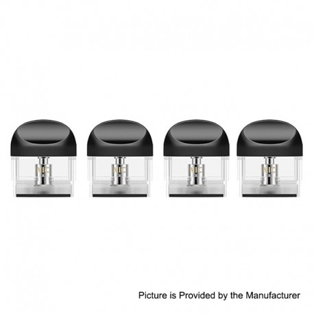 Authentic Yocan Trio Pod System Kit Replacement E-juice Pod Cartridge - 1ml / 1.4ohm Ceramic Coil (4 PCS)