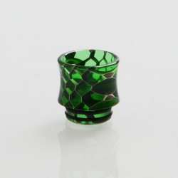 Authentic Vapesoon DT271-L 810 Replacement Drip Tip TFV12 Tank, Goon RDA - Green, Resin, 17mm