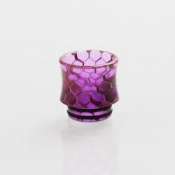 Authentic Vapesoon DT271-P 810 Replacement Drip Tip TFV12 Tank, Goon RDA - Purple, Resin, 17mm