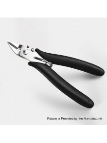 Authentic Vapefly Multifunctional Scissors Diagonal Pliers Coil Trimming Tool Ceramic Tweezers Coil Rod Mini Tool Kit - Black