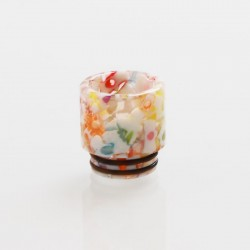 Authentic Vapesoon DT273 810 Drip Tip for TFV8 / TFV12 Tank / Goon / Kennedy / Reload RDA - White Multicolor, Resin, 17mm