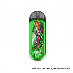 Authentic ThinkVape Orbit 1100mAh Pod System Starter Kit - Green, 3.0ml, 0.6 Ohm / 1.2 Ohm