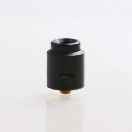 Terk V2 Style RDA Rebuildable Dripping Atomizer w/ BF Pin - Black, Stainlee Steel,24mm Diameter