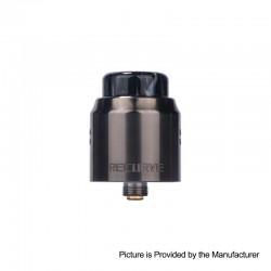 Authentic Wotofo Recurve Dual RDA Rebuildable Dripping Atomizer w/ BF Pin - Gun Metal, Stainless Steel, 24mm Diameter