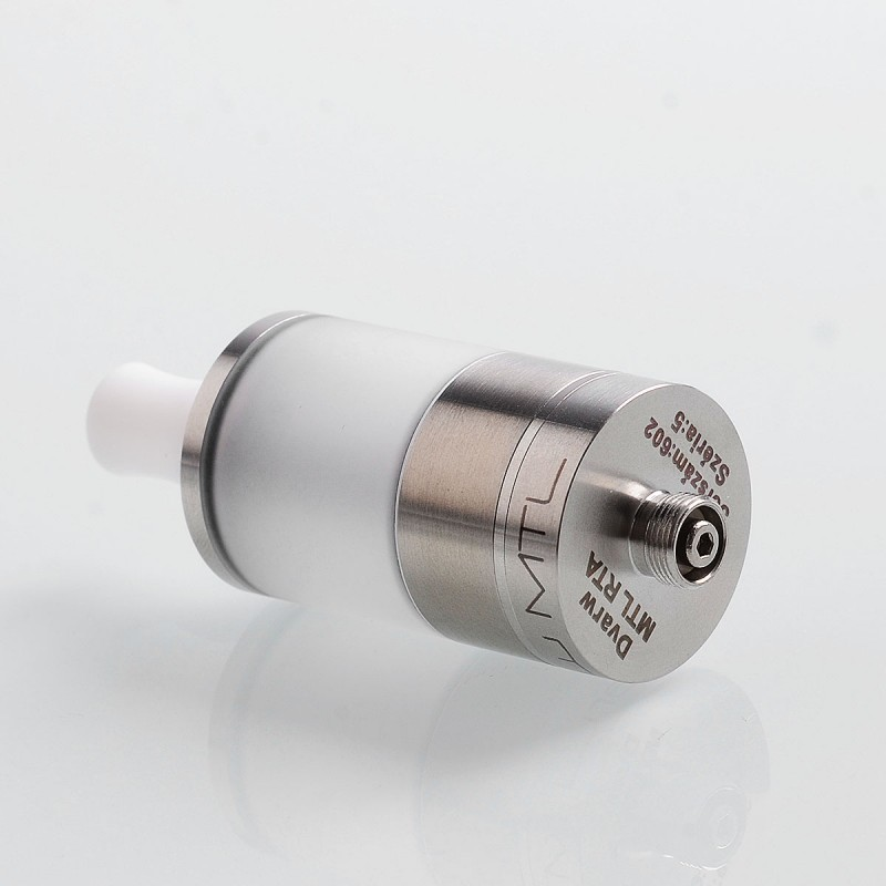 YFTK Dvarw MTL Styled RTA Rebuildable Tank Atomizer Stainless Steel Color