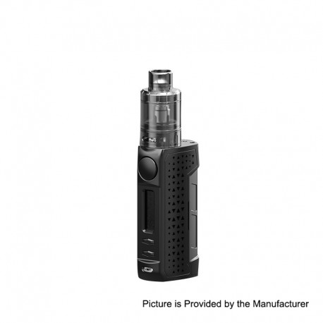 Authentic Teslacigs WYE 2 86W VW Variable Wattage Box Mod + CITRINE 24 Tank Kit - Black, 7~86W, PC + ABS, 1 x 18650