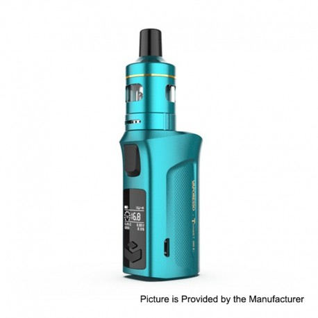Authentic Vaporesso Target Mini 2 50W 2000mAh VW Variable Wattage Box Mod with VM Tank - Teal, 5~50W, 2ml, 1.0ohm