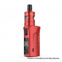 Authentic Vaporesso Target Mini 2 50W 2000mAh VW Variable Wattage Box Mod with VM Tank - Red, 5~50W, 2ml, 1.0ohm