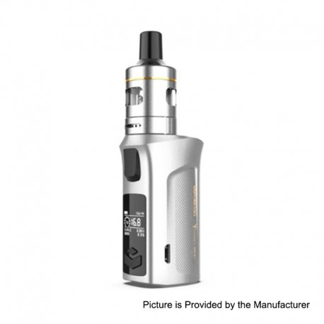 Authentic Vaporesso Target Mini 2 50W 2000mAh VW Variable Wattage Box Mod with VM Tank - Silver, 5~50W, 2ml, 1.0ohm