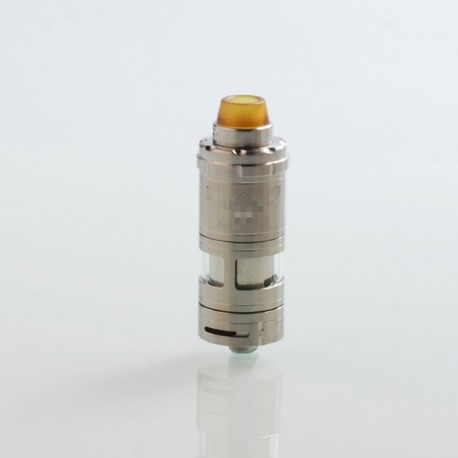 ShenRay VG V6S Style RTA Rebuildable Tank Atomizer - Silver, 316 Stainless Steel, 5.5ml, 23mm Diameter