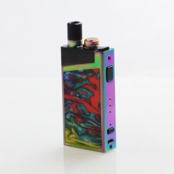 Authentic SMOKTech SMOK Trinity Alpha Resin 1000mAh Pod Starter Kit Standard Edition - Prism Rainbow, 2.8ml