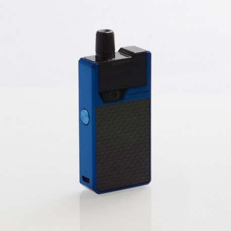 Authentic GeekVape Frenzy 950mAh Pod System Starter Kit - Blue Carbon Fiber, 2ml, 1.2 Ohm